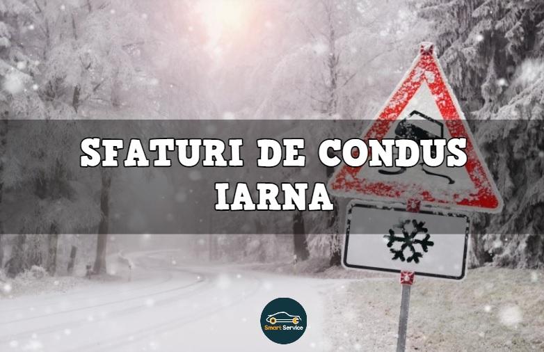 Cum să conduci iarna ca un profesionist. Sfaturi de condus pe timp de iarnă.
